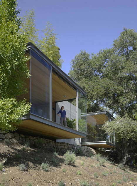 Nature-Embedded Retreats: Tea Houses by Swatt Miers Architects | sustainable architecture | Scoop.it