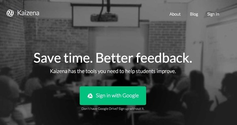 Free Technology for Teachers: Use Your Voice to Give Students Feedback on Google Drive - Cool Kaizena Updates | Digital Tools for the Classroom | Scoop.it