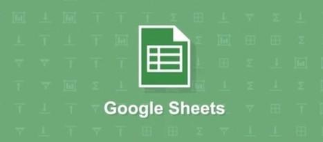 Las nuevas hojas de cálculo de Google, disponibles para todos en breve | Integra dTIC | Scoop.it