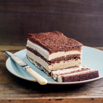 It's Not Complicated: Coffee Ice Cream Sandwich Terrine #Recipe   The Man With The Golden Tongs Hands Are In The Oven   Scoop.it