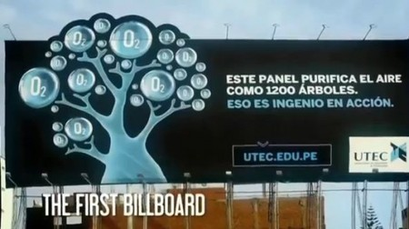 Air-purifying billboard does the work of 1,200 trees | The Future of Water & Waste | Scoop.it