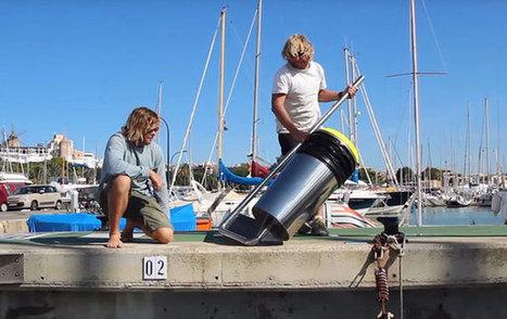 Floating Rubbish Bin That Cleans Oceans | Transición | Scoop.it