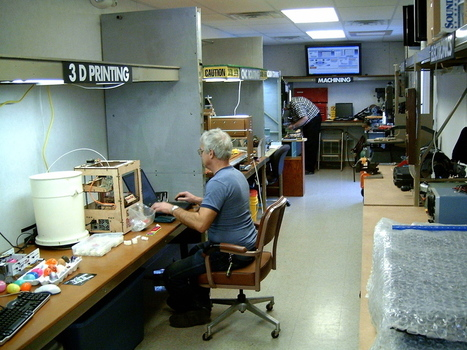 Libraries Make Room For High-Tech 'Hackerspaces' : NPR   Libraries & Technology   Scoop.it