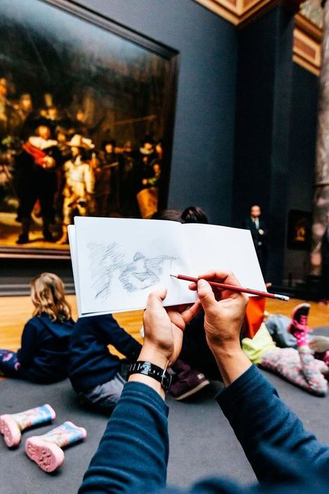 Le Rijks Museum interdit les photos mais encourage le public à dessiner les oeuvres | Informations filières | Scoop.it