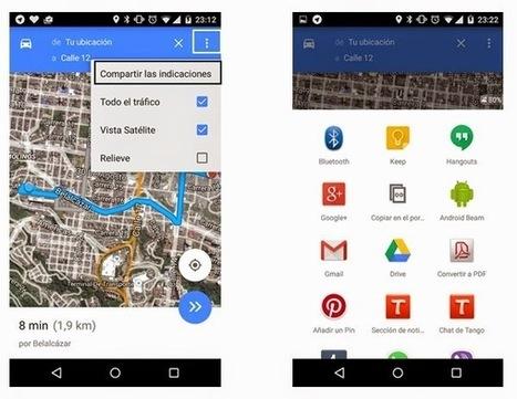 Geoinformación: Nueva versión de Google Maps 9.3 con funcionalidades de compartir indicaciones y nuevas de recomendaciones para nuestras reseñas | #GoogleMaps | Scoop.it