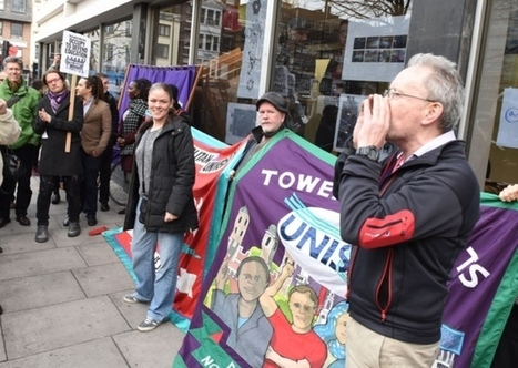 Lecturers join students' protest to stop London Met university closing Whitechapel campus | Trade unions and social activism | Scoop.it