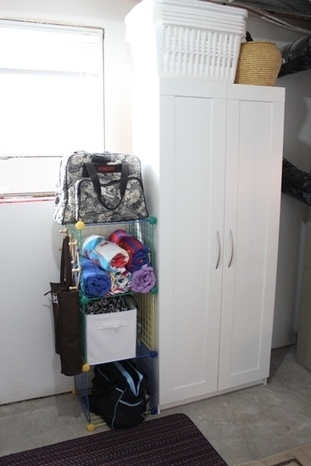 Utilizing Wasted Space for Storage : I'm an Organizing Junkie | Home Improvement Ideas | Scoop.it