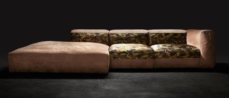Canapé Design Scoopit - Canapé tissu design
