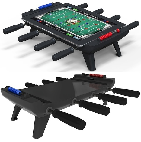 Turn the iPad into a Mini Foosball Table | Craziest Gadgets | Digital all | Scoop.it