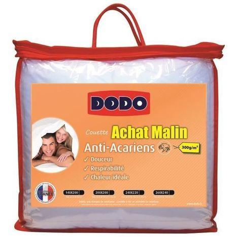 Super Bon Plan couette Dodo anti-acariens en soldes moins de 40 euros 0bdb655562e