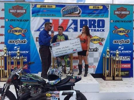 Sammy Halbert Racing won the Dash for Cash and is aiming for the main event win... | California Flat Track Association (CFTA) | Scoop.it