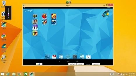 Comment transformer votre PC Windows 8.1 en tablette Android ? - FrAndroid | Pedago TICE | Scoop.it