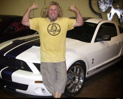 Sammy Hagar Selling His 2007 Mustang Shelby GT500 Coupe - Ultimate Classic Rock | Mustangs | Scoop.it