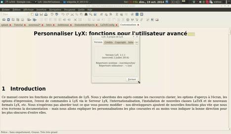 Présentation du logiciel libre : Lyx – Le blog de Wilfried Caruel | Actualités de l'open source | Scoop.it