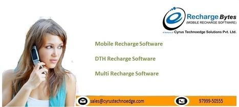 Get B2B/B2C Mobile Recharge Software Online | B