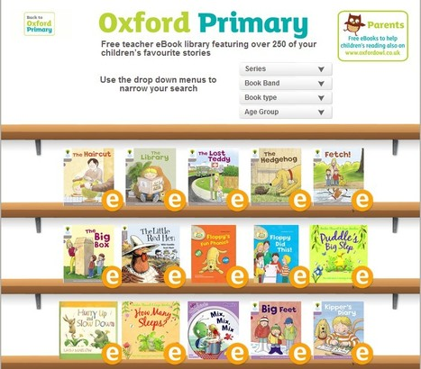 Free children's ebooks for ages 3-11 | Oxford Owl | UpTo12-Learning | Scoop.it