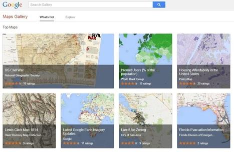 Google führt Kartenarchiv Maps Gallery ein   3D Content & E-Learning   Scoop.it