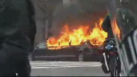 Washington DC, a limousine became engulfed in flames as criminals riot  .... | Criminal Justice in America | Scoop.it