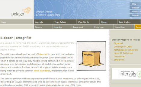 Emogrifier: convert CSS styles into HTML inline style attributes | Binterest | Scoop.it