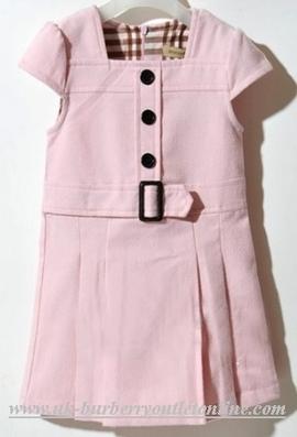 burberry dresses outlet azgw  Burberry Kids Woolen Dress Pink [B004339]