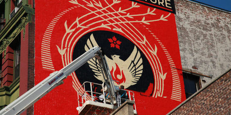 Shepard Fairey And The Future In New York's Little Italy - Huffington Post | Teaching Visual Art | Scoop.it