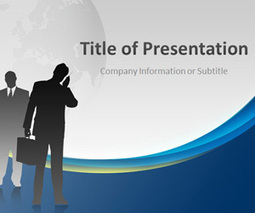 corporate executive powerpoint template | free, Presentation templates
