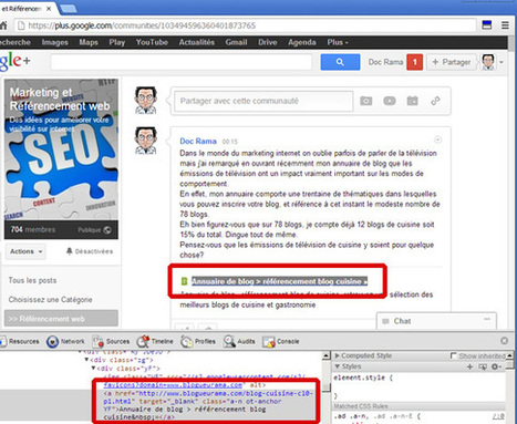 Pour votre référencement, utilisez Google + intelligemment | Communication 2.0 et réseaux sociaux | Scoop.it