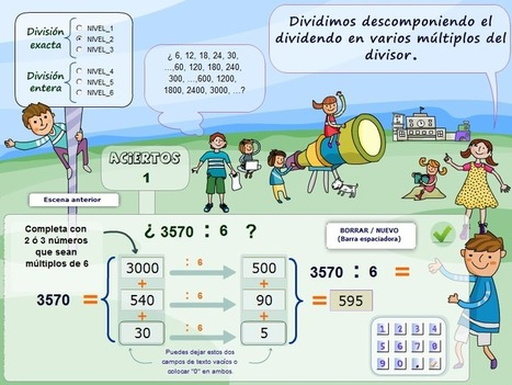 Interactive formats for the practice of a calculation designed, flexible and based on numbers. | Maths | Scoop.it