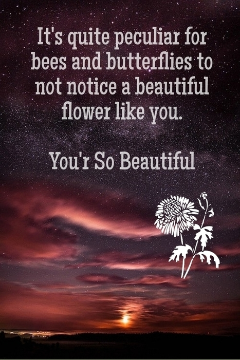 You Are So Beautiful Quotes For Her Best Face