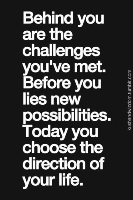Daily Quote: Behind You Are The Challenges You've Met… | Life @ Work | Scoop.it