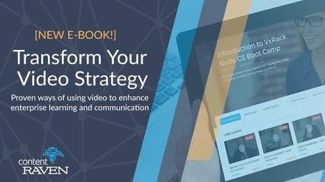 [eBook] Transform your Video Learning strategy | Edumorfosis.it | Scoop.it