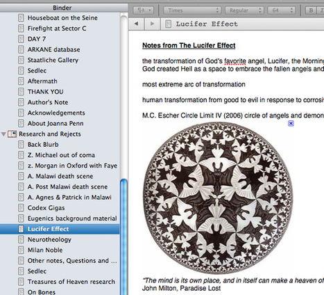 Scrivener: 3 Reasons You Should Use It For Your Book | Online Tools | Scoop.it