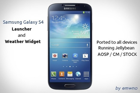 GALAXY S4 LAUNCHER APK ~ Android gallery for an