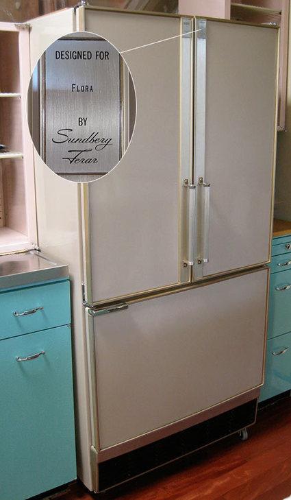 American Beauties: 25 vintage stoves and refrigerators from readers ... | Vintage Kitchens | Scoop.it