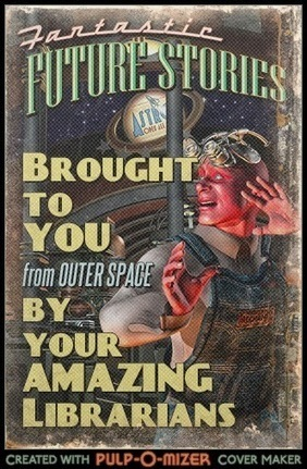 A Librarian Less Ordinary: Pulp-O-Mizer Magazine Cover Generator | Library curating | Scoop.it