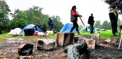 Le camp oublié des indignés | Belgian Revolution | Scoop.it
