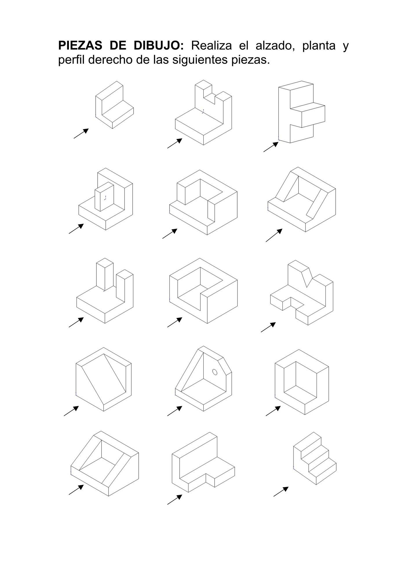 piezas de dibujo dise u00f1adas con openscad