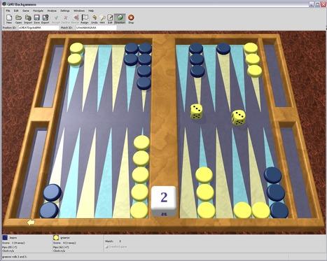 GNU Backgammon   Abstract Board Games   Scoop.it
