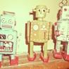 Vintage, Robots, Photos, Pub, Années 50