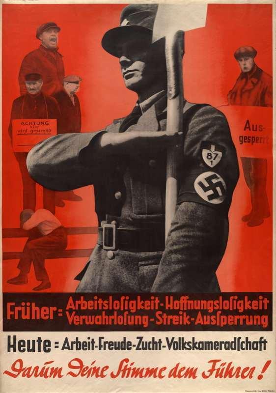 the use of propaganda in nazi germany