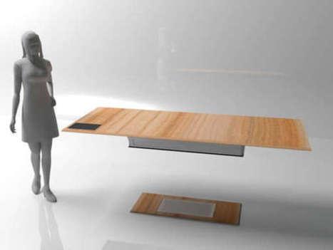 Legless Levitating Tables | Arte y Fotografía | Scoop.it