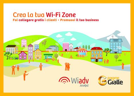 Seat PG Italia lancia Wiadv, servizio di wi-fi per l'advertising iperlocalizzato | Marketing_me | Scoop.it