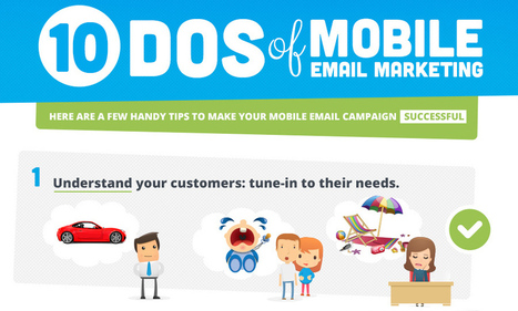 10 Tips for a Successful Mobile Email Campaign [Infographic] | Sensible Social Media & Digital Marketing | Scoop.it