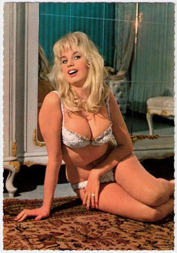 *European Film Star Postcards*: Barbara Valentin | Sex History | Scoop.it
