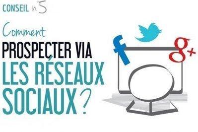Comment prospecter (pour trouver un emploi) via les réseaux sociaux? | François MAGNAN  Formateur Consultant | Scoop.it