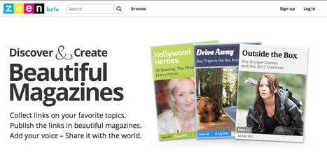 Tres herramientas para crear revistas y catálogos online | Education & Social Media | Scoop.it