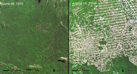 15 before-and-after images that show how we're transforming the planet | Geology | Scoop.it