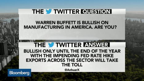 Warren Buffett Is Bullish on Manufacturing in America   Today's Manufacturing News   Scoop.it