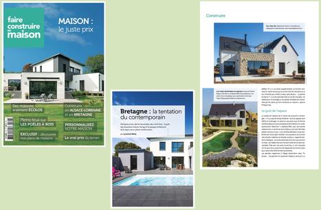 En kiosque.. Magazine FAIRE CONSTRUIRE SA MAISON – Novembre 2016 : Bretagne : la tentation du contemporain | architecture..., Maisons bois & bioclimatiques | Scoop.it