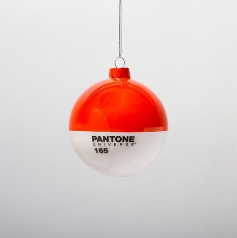 #PANTONE #Glass #Christmas #Ornaments. #colour #art #design | Luby Art | Scoop.it